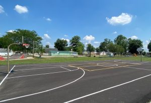 Village of Buckeye Lake Parks & Recreation Commission is happy to announce the newly resurfaced court located at Ryan-Braden Park.  The court includes full court basketball, as well as a Pickleball Court.